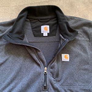 Carhartt Sweaters - Carhartt Dalton Half-zip fleece - Size Large